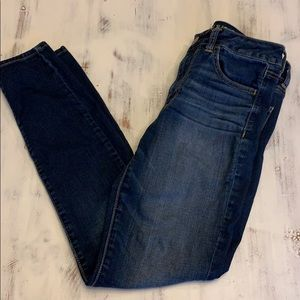 American Eagle High Rise Jeggings Size 6